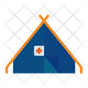 Camp Army Military Icon