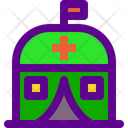 Medical Camp Icon