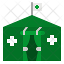 Medical Camping Icon