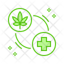 Medical Cannabis Marijuana Icon