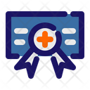 Medical Certificate Medical License Certificate Icon
