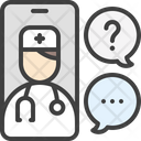 Chat Doctor Icon