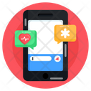 Medical Messaging Mobile Chat Medical Chat Icon