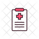 Medical Check Medical Report Report Icon
