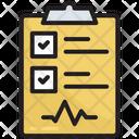 Care Checklist Clipboard Icon
