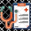 Medical Checkup Report Medicine Icon