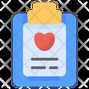 Checkup Medical Raport Icon