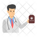 Medical Checkup Doctor Examination Doctor Consultation Icon