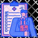 Medical Checkup Hospital Medical Icon