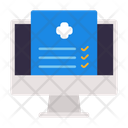 Computer Document Paper Icon