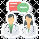 Medical Conversation Icon