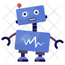 Medical Cyborg Medical Robot Bionic Man Icon