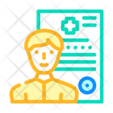 Medical Data Medical Details Medical Report Icon