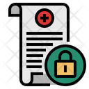 Medical Data Secure Icon