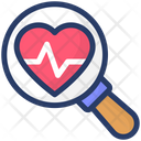 Healthcare Cardiology Checkup Icon