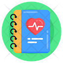 Medical Book Medical Directory Medical Diary Icon
