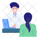Medical Discussion Icon