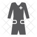 Medical Gown Clothes Icon