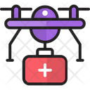 Medical Drone Icon