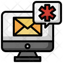 Medical Email Medical Mail Email Icon
