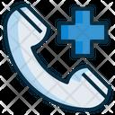 Medical Emergency Emegency Call Hotline Icon
