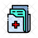 Medical File Medical Report Report Icon