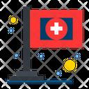 Medical Flag Icon