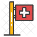 Medical Flag Icon