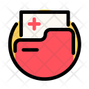 Medical Cross Folder Icon