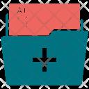 Medical Folder Documentation Icon
