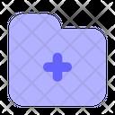 Medical Folder Folder Data Icon