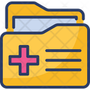 File Folder Medical Icon