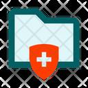 Folder Shield Protection Icon