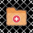 Folder Files Medical Icon