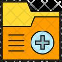 Medical Folder Medicine Medical Documents Icon