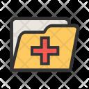 Medical Records Folder Icon