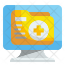 Medical Folder Information Folder Icon