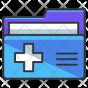 Folder Medical Prescription Icon