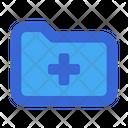 Medical Folder Folder File Icon