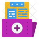 Data Folder Hospital Icon