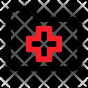 Folder Files Health Icon