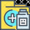 Medical Folder Kit Icon