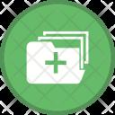 Medical Folder Files Icon