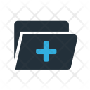 Medical File Document Icon