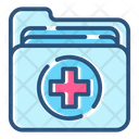 Healthcare Medical Folder Icon