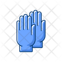 Gloves Simple Equipment Icon