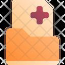 Medical History Folder Icon