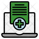 Medical History Claim Document Icon