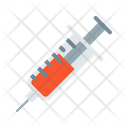 Medical Injection Drug Icon