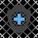 Medical Insurance Shield Icon